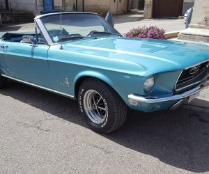Philippe Decours  - Mustang convertible 1968 V8 4V code c